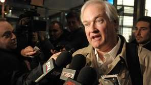 Donald Fehr, executive director of the NHL Players'