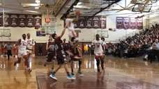 Video highlights of No. 1 Amityville's 73-63 victory