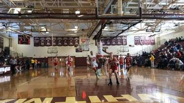 Video highlights of Center Moriches defeating Southold, 107-55,