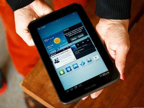 Samsung Galaxy Tab 2 7.0, iPad Mini competitors.