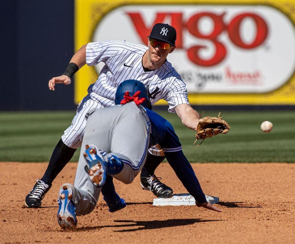 New York Yankees' second baseman DJ LeMahieu could