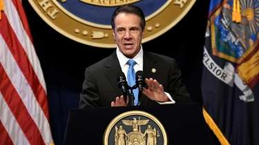 Gov. Andrew M. Cuomo delivers his State of