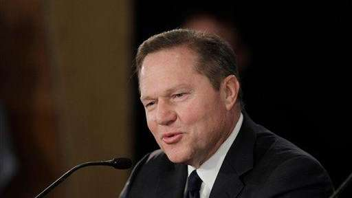 Sports agent Scott Boras is seen during a