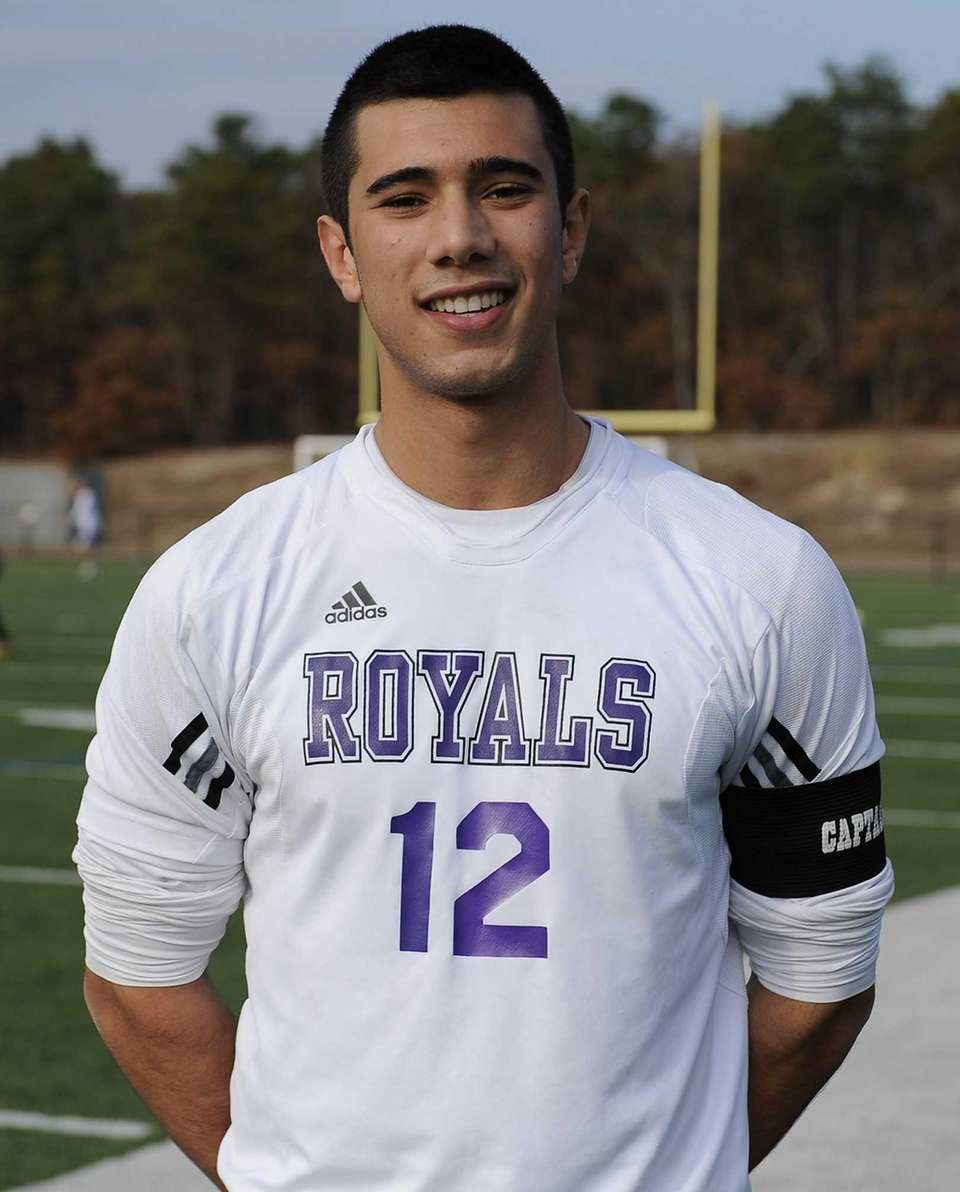 Port Jefferson's Vincent Antonelli scored the three goals