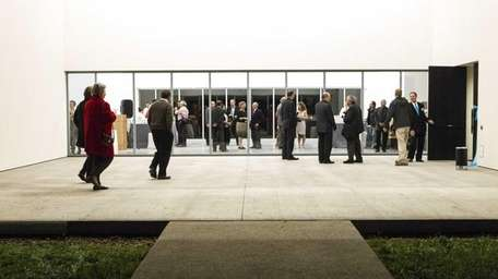 The Parrish Art Museum held a VIP grand