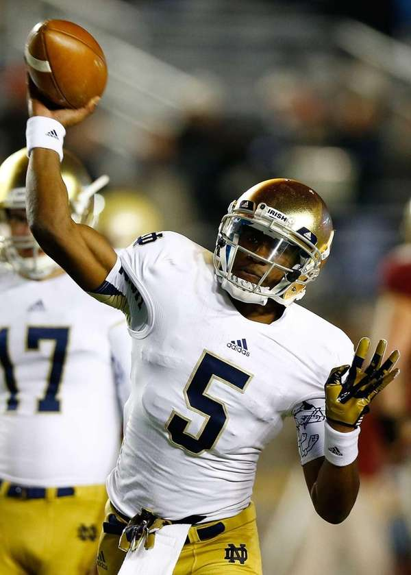 Everett Golson of the Notre Dame Fighting Irish