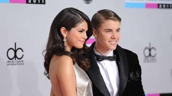 Selena Gomez and Justin Bieber