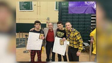 Matt and Benny Rogers won Nassau Division I