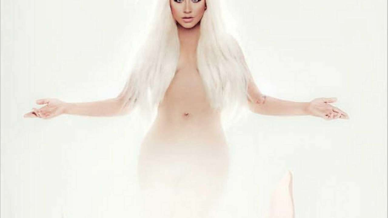 The cover for LOTUS by Cristina Aguilera's latest