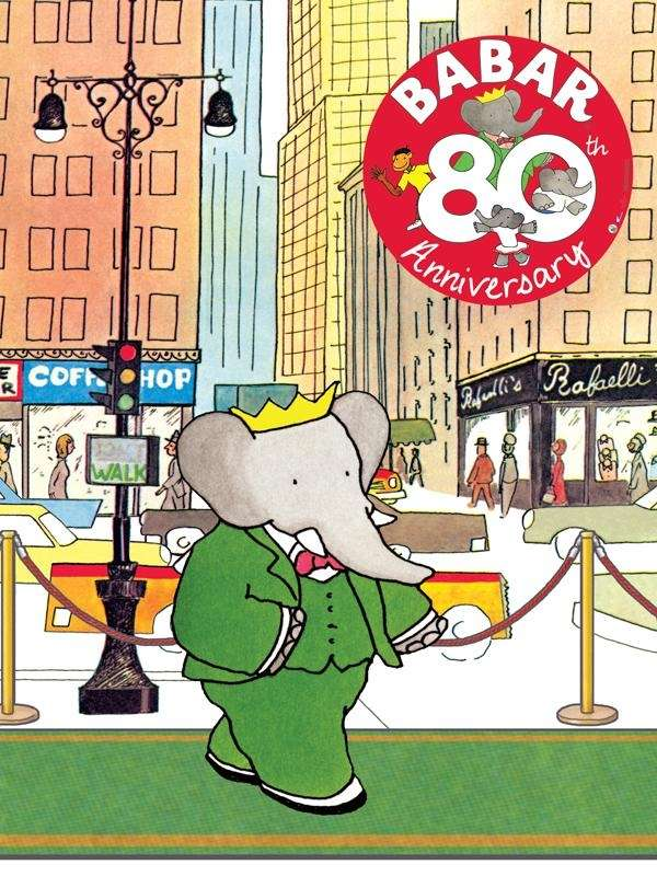 Celebrate Babar's 80th birthday at retail stores nationwide.