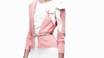 A look from French designer Sophie Theallet's collaboration