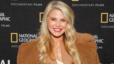 Christie Brinkley attends a National Geographic documentary screening