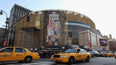 Madison Square Garden on Nov. 26, 2011.