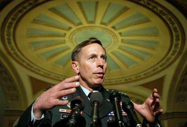 U.S. Army Gen. David Petraeus, commander of the