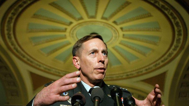 U.S. Army Gen. David Petraeus, commander of the
