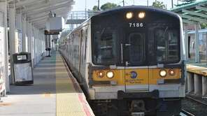 A trespasser on the Long Island Rail Road