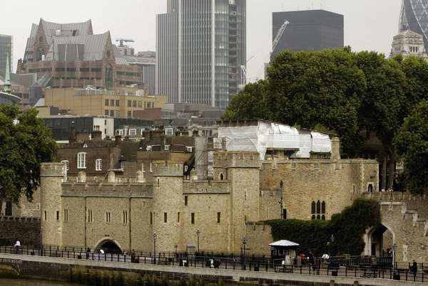 This file photo shows the Tower of London,