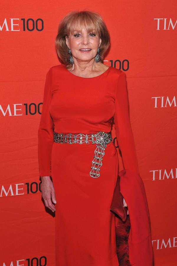 Barbara Walters attends the Time 100 Gala celebrating