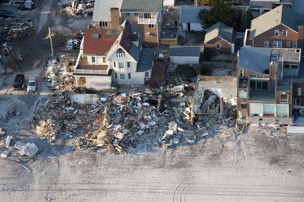 A view of Belle Harbor. (Nov. 9,2012)