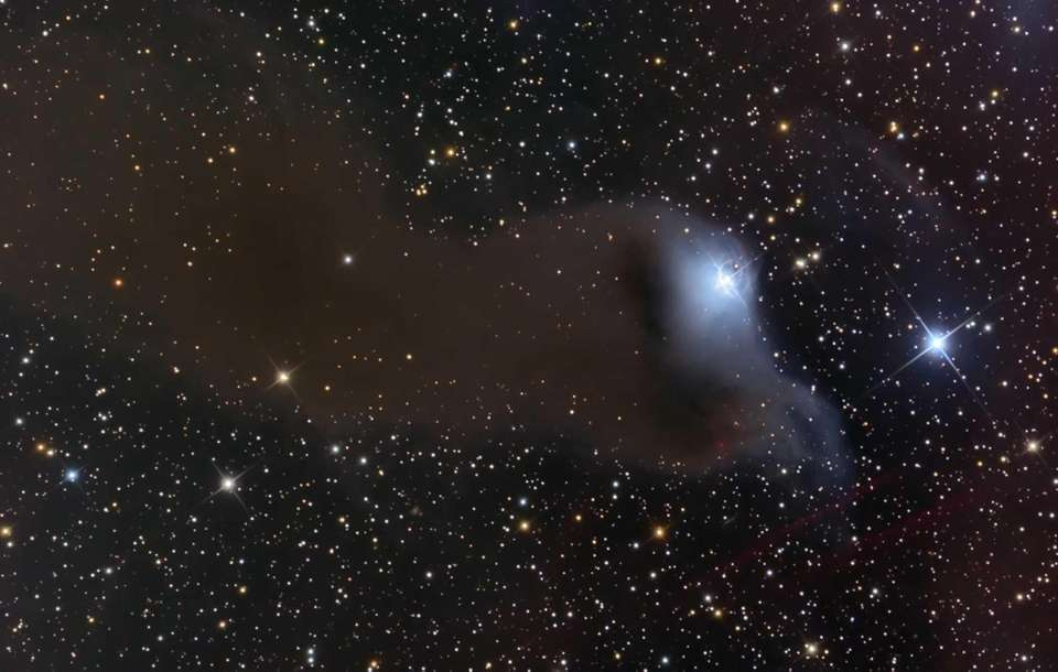 This image shows nebula VdB 152, which is