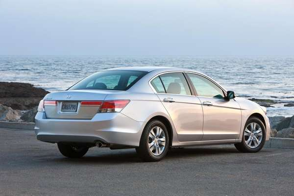 The owner's manual of the 2012 Honda Accord