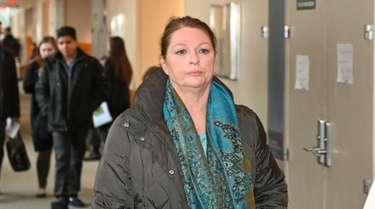 AnnMarie Drago at First District Court in Central
