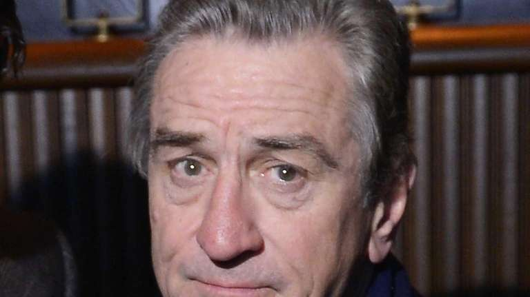 Actor Robert De Niro attends the Tribeca Teaches