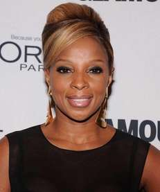 Mary J. Blige attends the 22nd annual Glamour