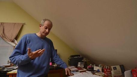 David Kahn said he fears his income and