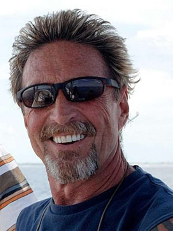 Software company founder John McAfee is wanted by