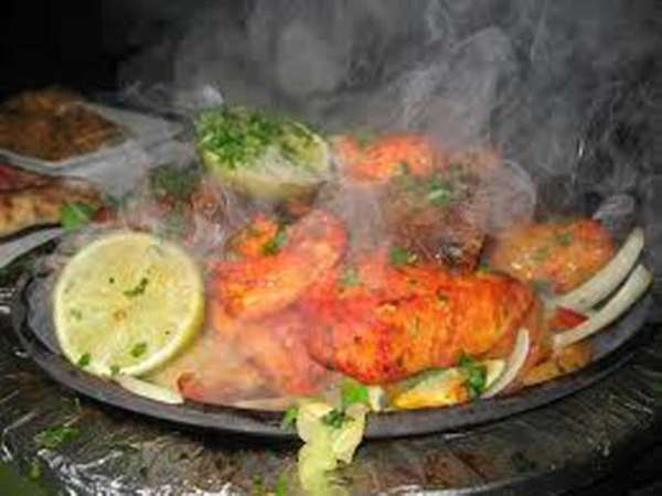 Chicken tandoori at Delhi 6 in Hicksville.