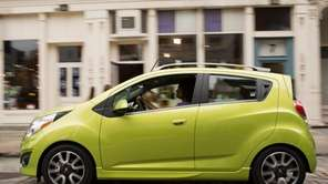 The 2013 Chevy Spark, which was designed and