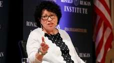 Supreme Court Justice Sonia Sotomayor in September.