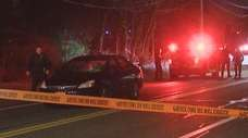 Suffolk County police investigate after a pedestrian was