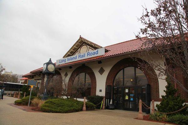 The Long Beach LIRR station. (Nov. 13, 2012)