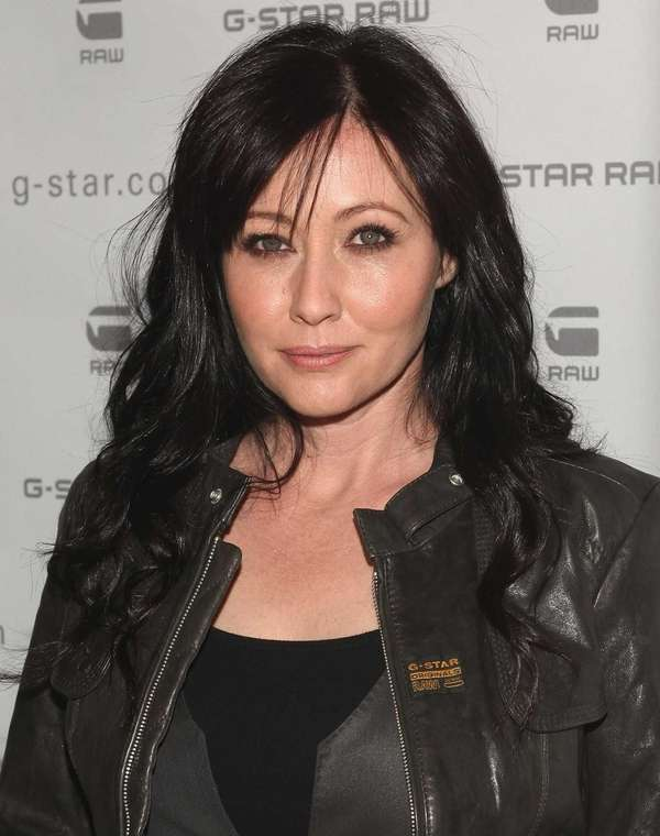 Actress Shannen Doherty attends the G-Star Raw Fall/Winter