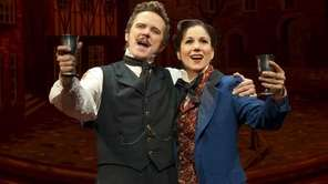 Will Chase and Stephanie J. Block in Roundabout