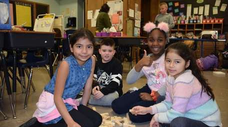 In West Babylon, Santapogue Elementary School students participated