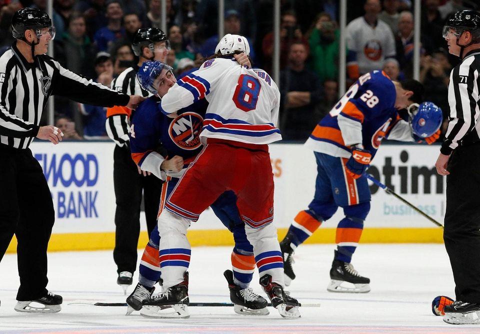 Jean-Gabriel Pageau #44 of the New York Islanders