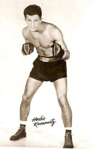 Former middleweight contender Herbie Kronowitz, from Brooklyn