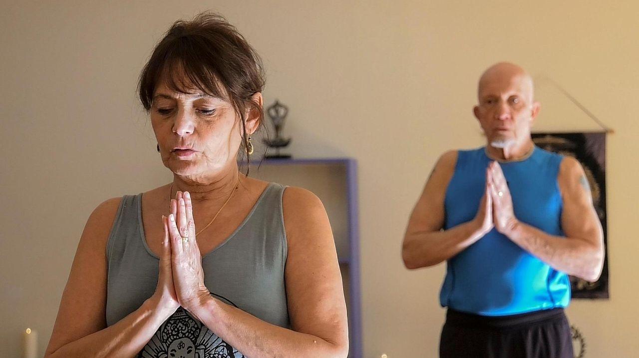 Renee Lennon, a co-owner of Yoga Sangha studio