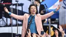 "Harry Styles performs on NBC's ""Today"" at Rockefeller"