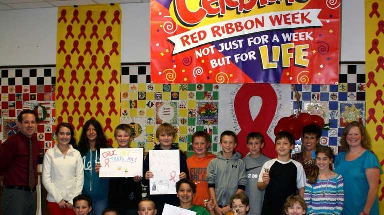 Minnesauke Elementary students took a stand against substance