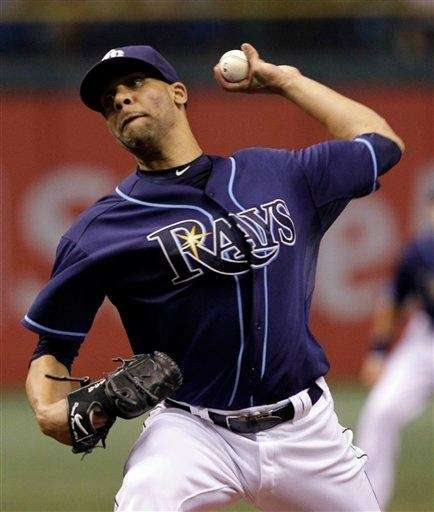 David Price pitches during the first inning against