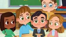"""The children's book """"The Office: A Day at"""