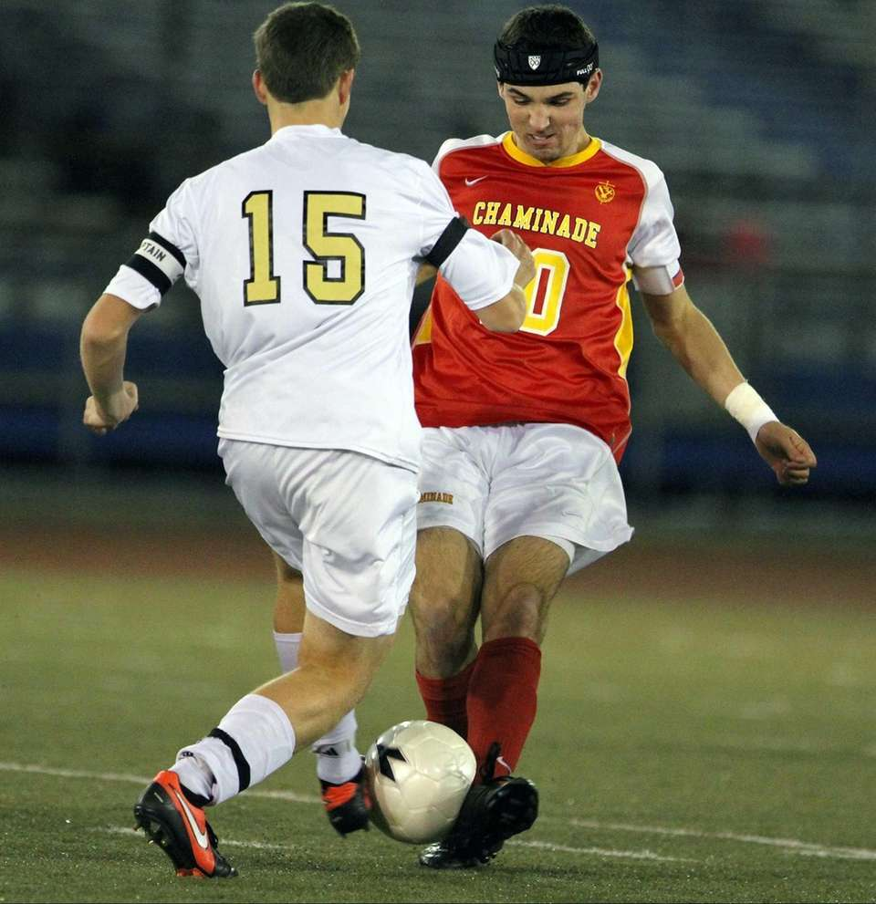 Mark Jecewiz of St. Anthony's and Chaminade's Kevin