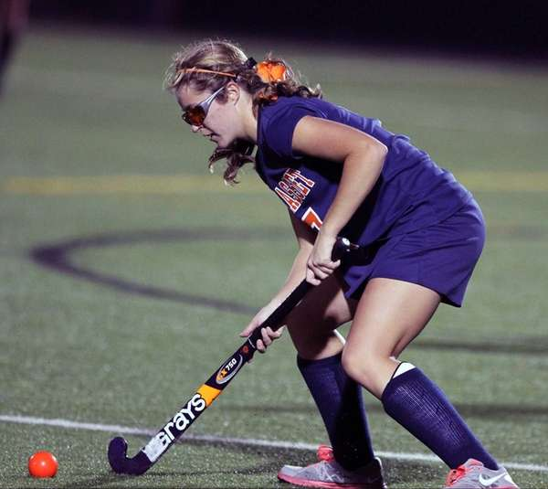 Manhasset's Abigail Kucharczyk scored a late goal as
