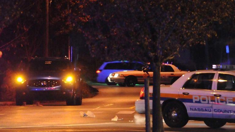 Police investigate the scene on Conklin and Clinton