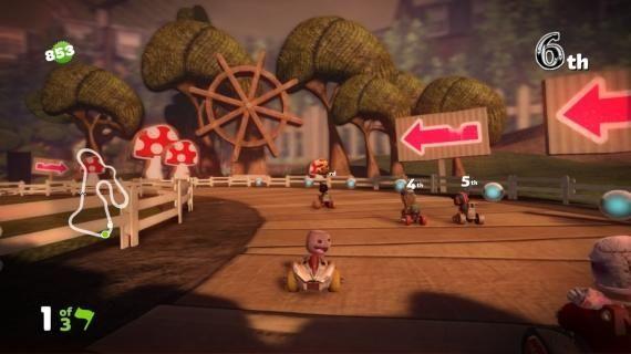 LittleBIGPlanet Karting $49.99, PS3 The LittleBIGPlanet series runs