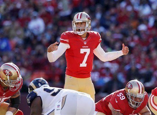 2. COLIN KAEPERNICK | San Francisco 49ers vs.
